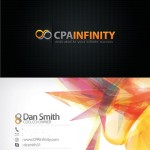 Business Card for CPA Infinity
